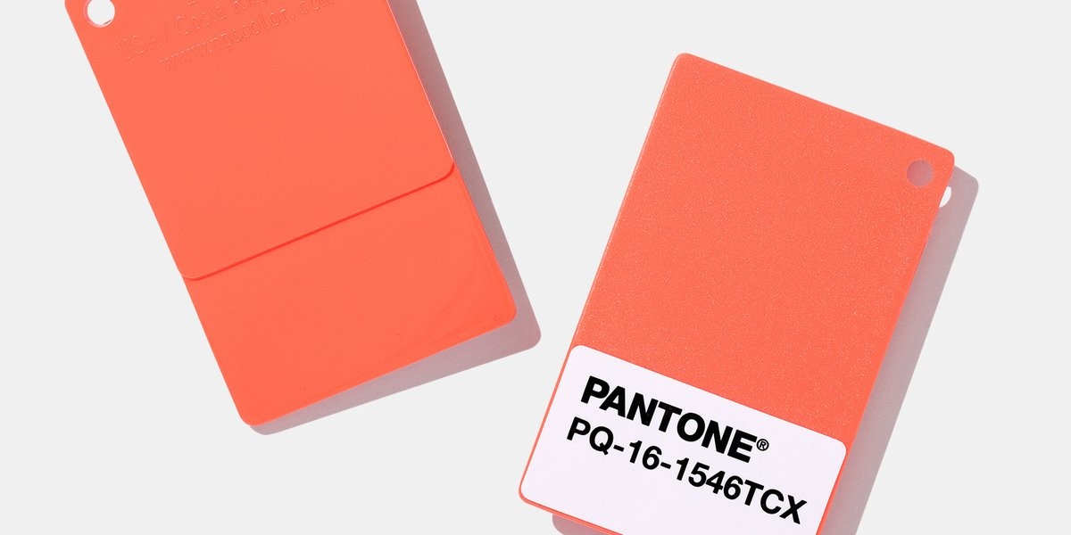 Pantone's Color Of The Year calls for more humanity among 'the onslaught of digital technology and social media' https://t.co/awInT6lZNQ
