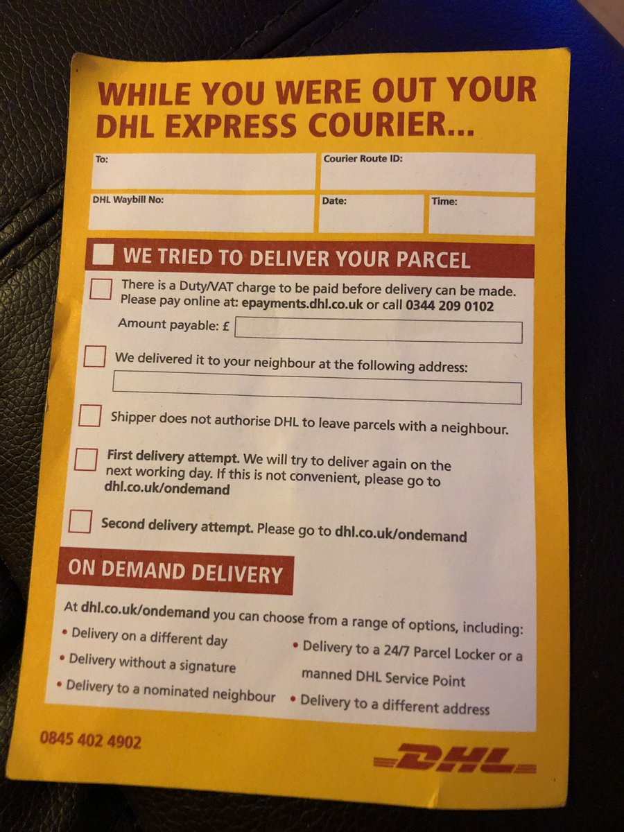 Epayments Dhl Co Uk >> Rick Houghton A Twitter Dear Dhlexpressuk What Is The