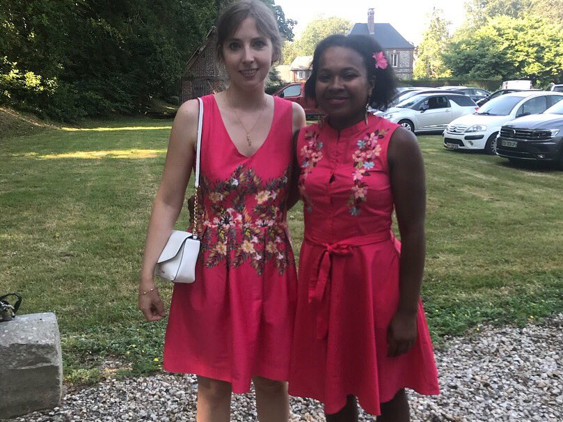 #day15 #itsbiggerthanadress donate to @Dressember against trafficking. Like sister of dresses #red @jenmorrisonlive