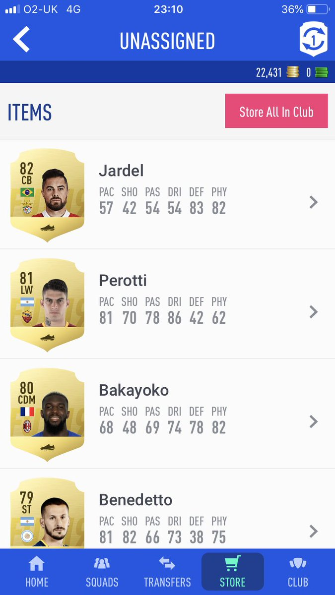 Back to my Trash pack luck if people want me to show how I do SBC drop a follow please. #Fut #Fifa #fifa19 #Futmas #championscup #Totw #totgs #Pack #megapack