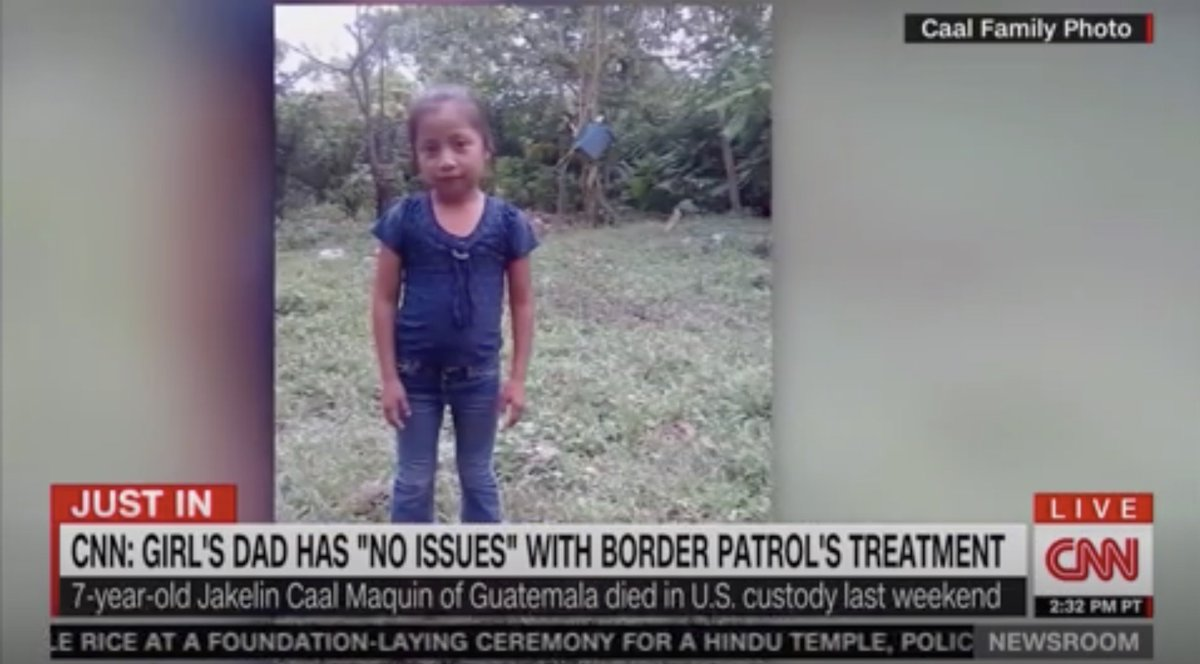 Father of Little Girl Who Died in Border Control Custody Says He Has 'No Issues' With Treatment https://t.co/6cWdDDlQcY