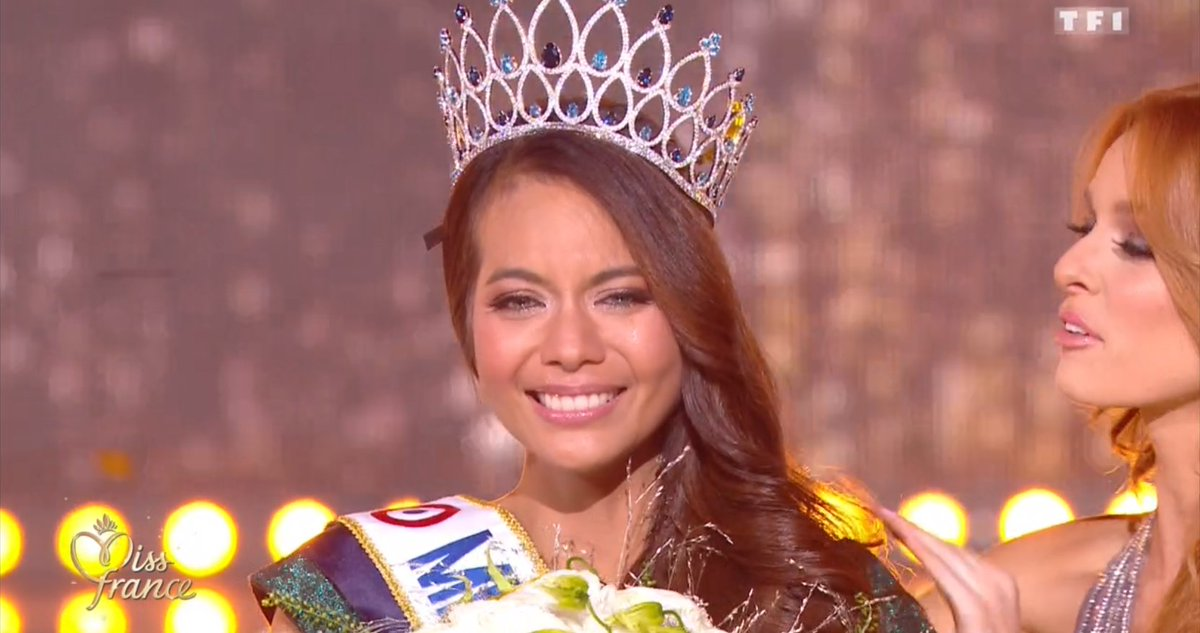 Miss Tahiti est élue Miss France 2019 https://t.co/vCobX0kefs