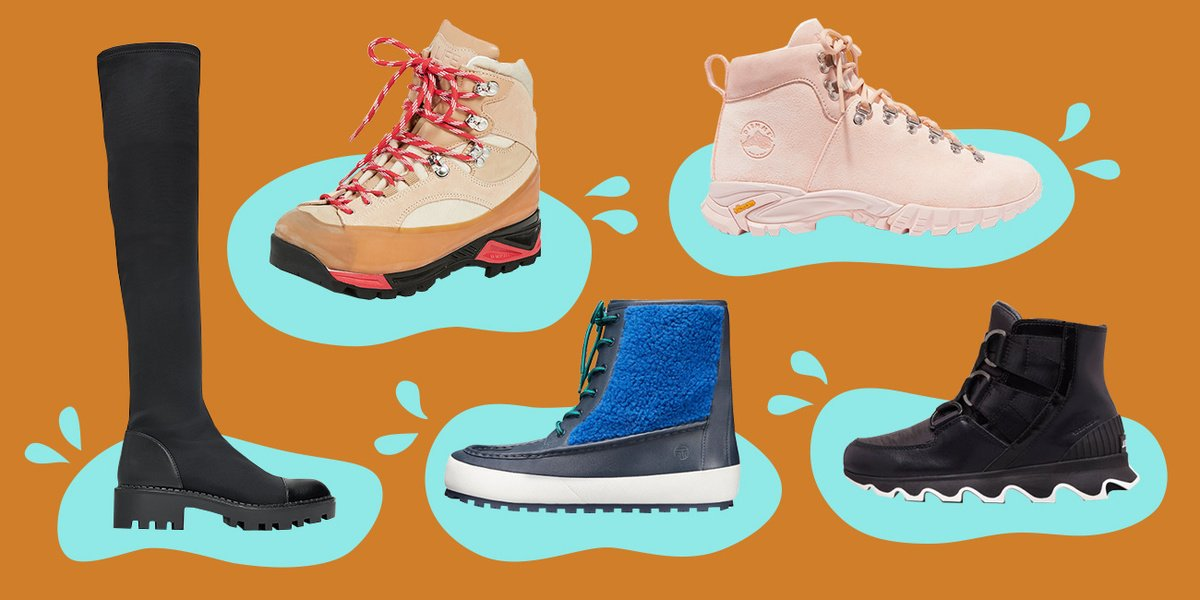 These 12 delightfully chunky boots will make your winter less miserable https://t.co/HmqJirOVU9