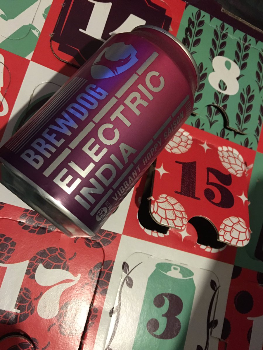 Saisons greetings & #xmascheers for @TheBeerHawk advent calendar day 15