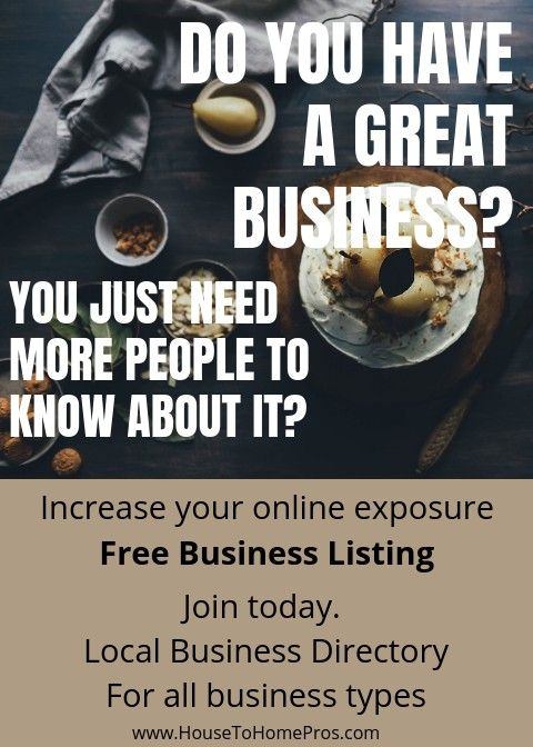 Increase online exposure for your small business. FREE business listing on https://HouseToHomePros.com   #SmallBusinessSaturday #marketing #online #freebusinesslisting #reviews #classifiedads