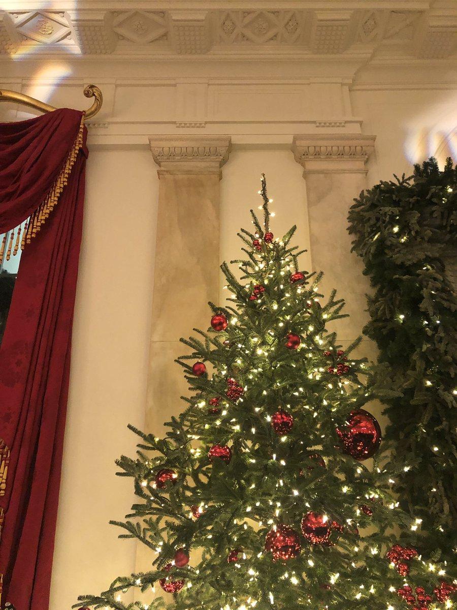 Christmas season 2018, Grand Foyer of the White House