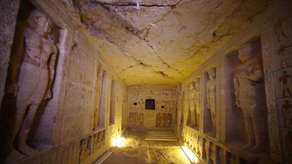 Descubrieron una tumba de 4.400 años en Egipto https://t.co/MepgwIVMrT
