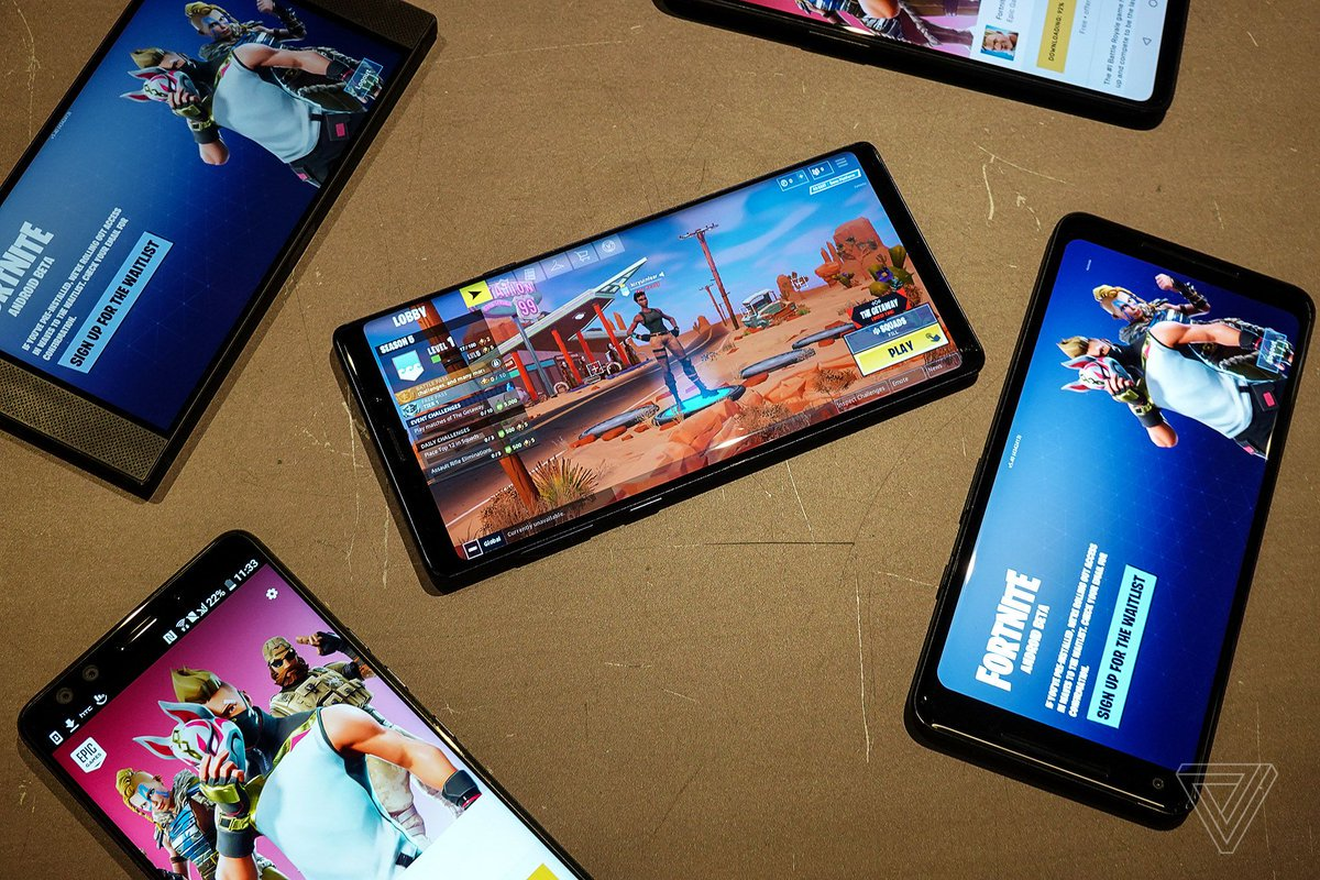 Epic will let other game developers use Fortnite's cross-platform tools for free https://t.co/YPPsm9rLcB
