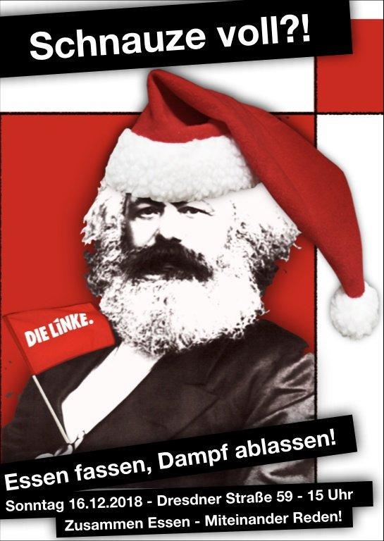 Weihnachtsessen Leipzig.Die Linke Leipzig Ag Soziales On Twitter Es Ist Soweit