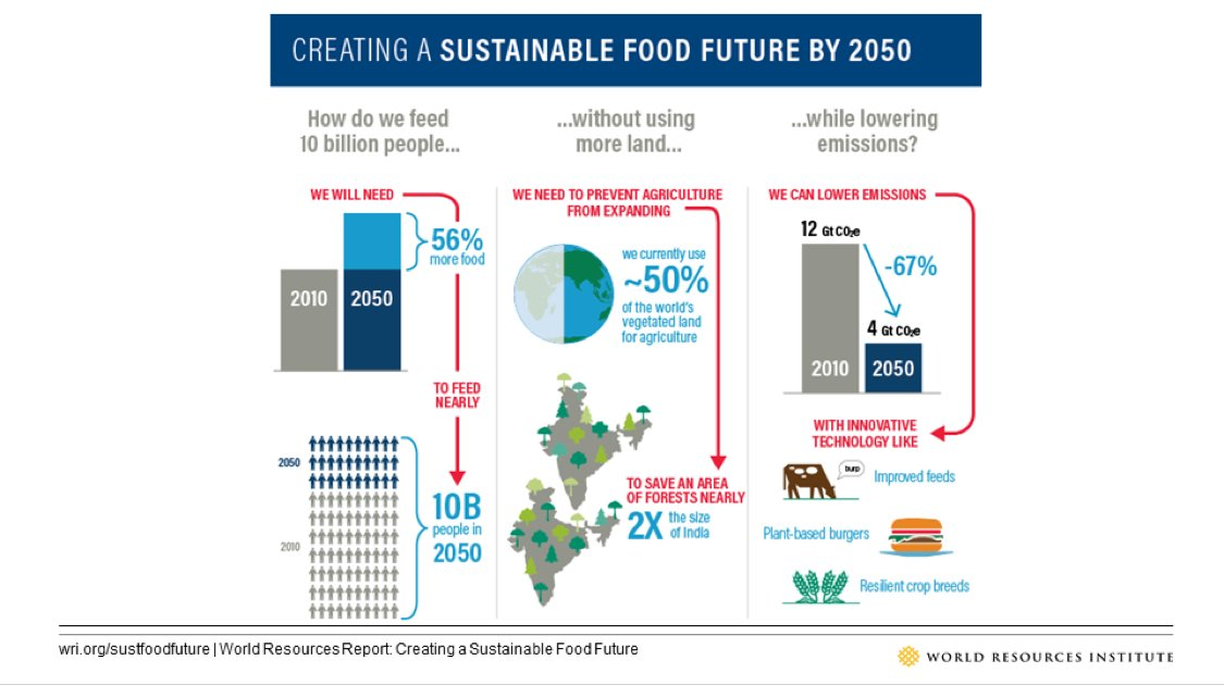 Food is the mother of most environment & development issues. By improving the way the world's food is grown and consumed, we can treat the cause, not just the symptoms. Learn more:  https://t.co/qyXONwh5Sn#sustfoodfuture