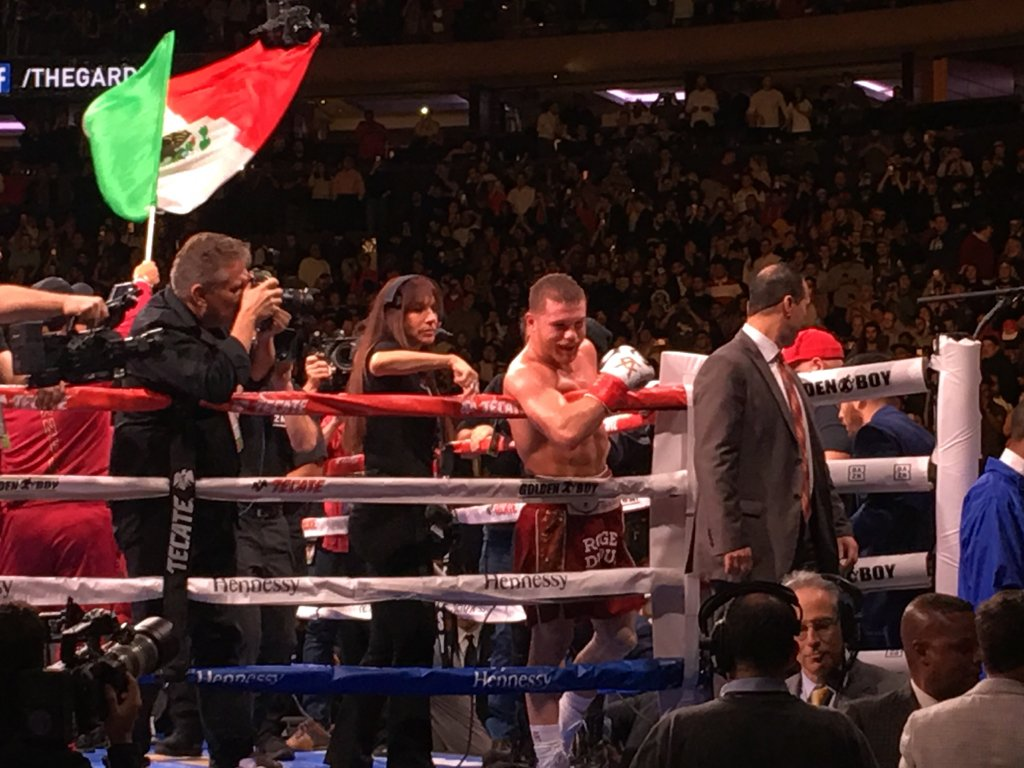 Canelo with a dominant win.