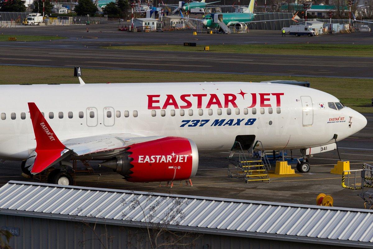 Resultado de imagen para Eastar Jet Boeing 737 MAX