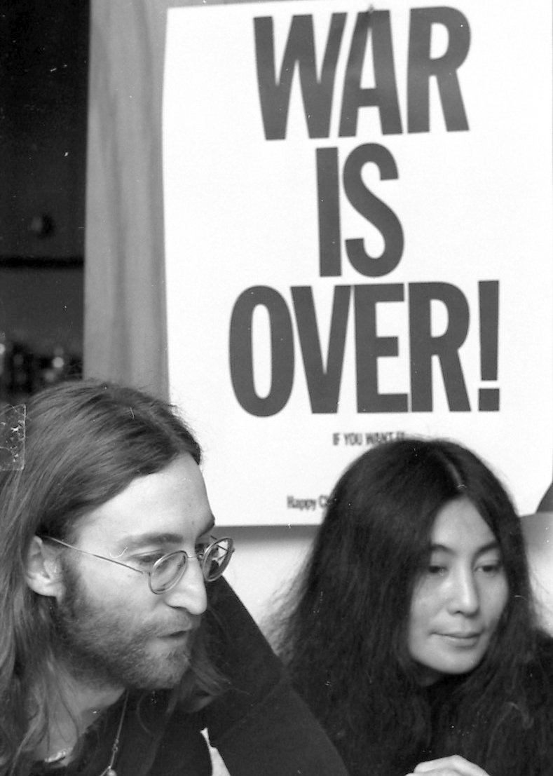 #onthisday - John & Yoko launched the WAR IS OVER! (If You Want It) billboard campaign  from Ottowa, Canada, 49 years ago today on 16 December 1969. Find out more at https://t.co/knwlskmEGl