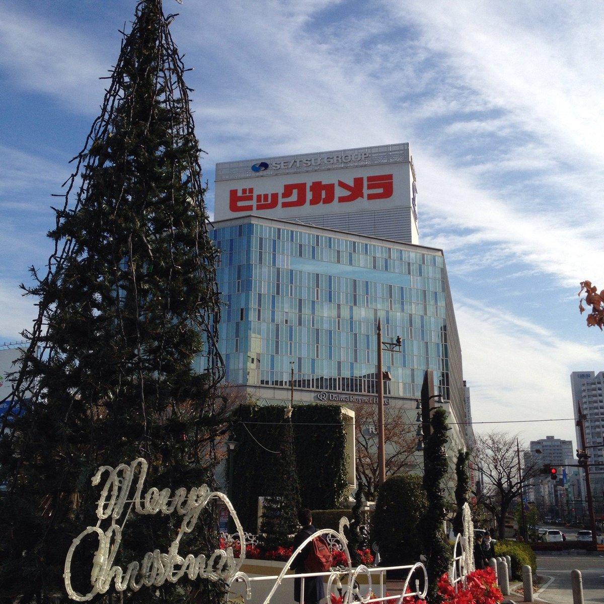 岡山駅 東口 クリスマス