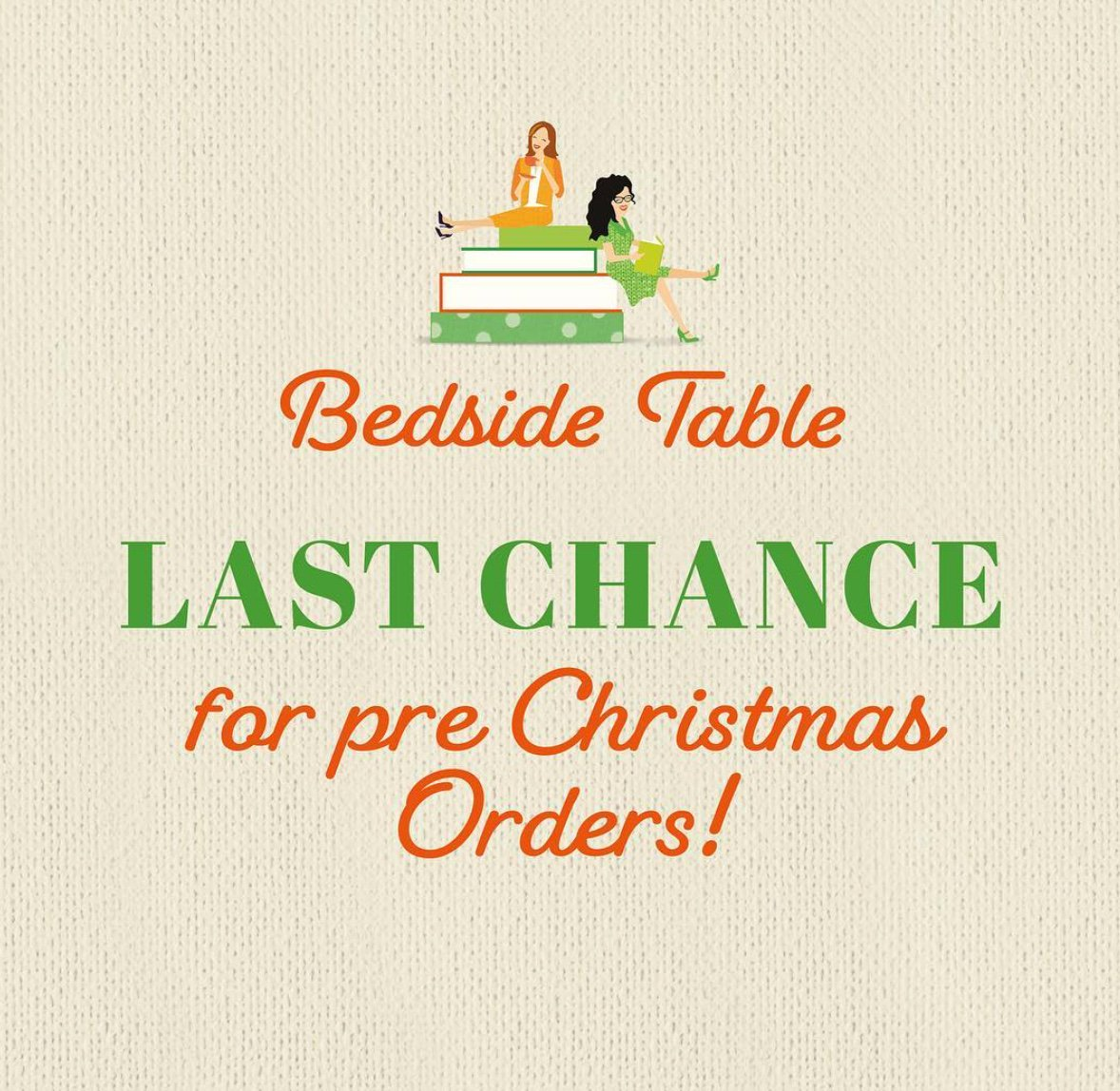 Open For Christmas Orders.Chat 10 Looks 3 On Twitter Last Chance Chatters Our