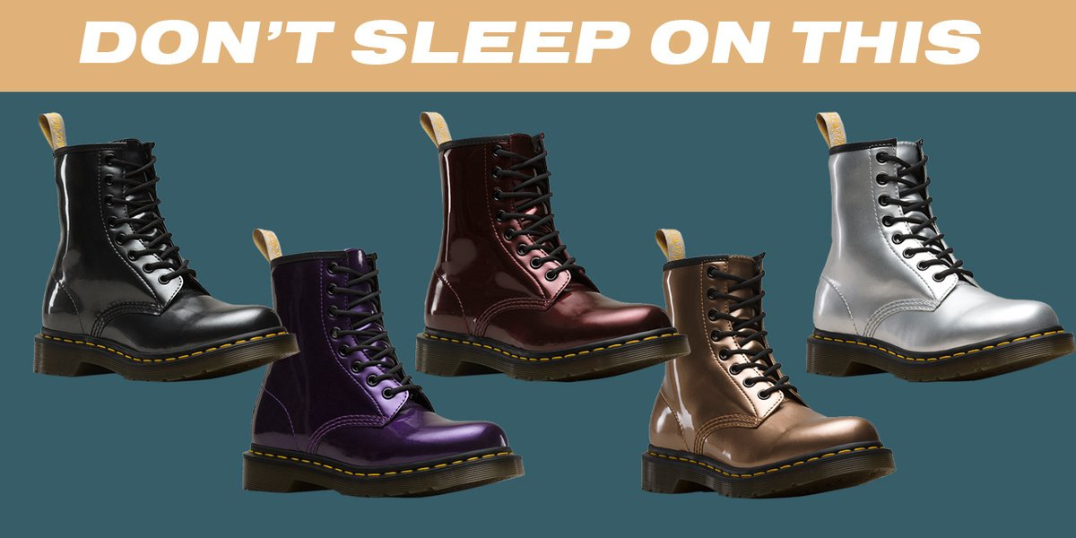 Here's a pro tip that helps you bleed less when breaking in your new Dr. Martens https://t.co/VCJ9QATODy