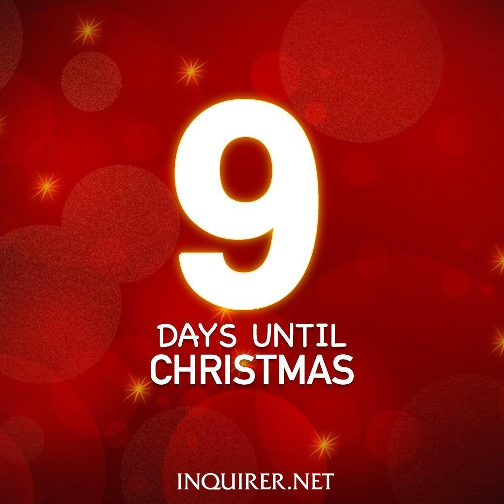 It's nine days before the most wonderful time of the year! ⛄
