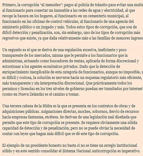 López Obrador ha señalado que la alta incidencia de corrupción que nos aqueja es culpa del neoliberalismo, aseveración sin sentido: @econoclasta https://t.co/pqX9RxagIE
