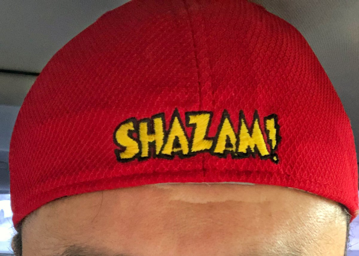 I loved the #Aquaman movie, but I only #Shazam! https://t.co/hP9bCwhKtC