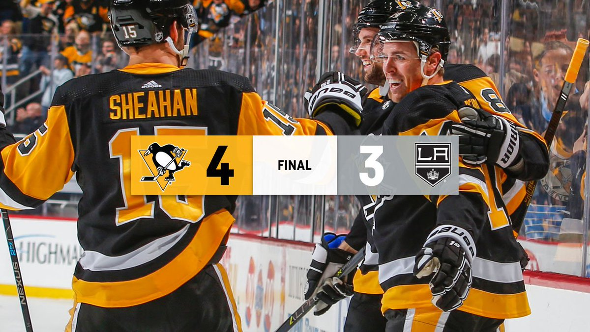 VICTORY ROYALE!  Kessel scores the game winner in overtime!