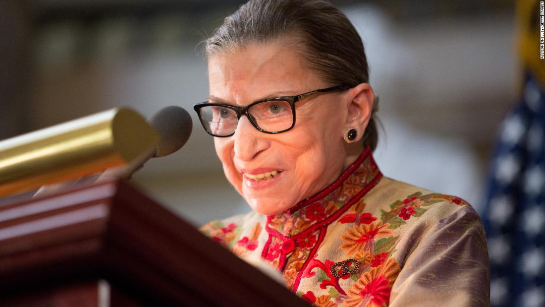 "Supreme Court Justice Ruth Bader Ginsburg says she's ""almost repaired"" after last month's fall https://cnn.it/2Cf9ba5"