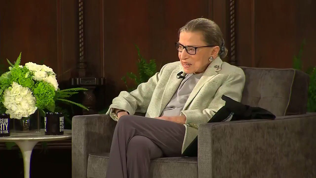 Justice Ruth Bader Ginsburg: My health is fine, ribs are 'almost repaired' https://t.co/8DTfcYCyyJ https://t.co/rhKOHENFu7