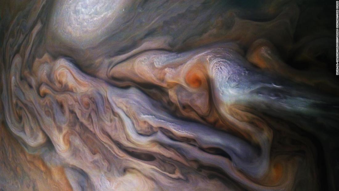 NASA sent the spacecraft Juno to Jupiter in 2011. It got back works of art. https://t.co/bTyxXMnTYf