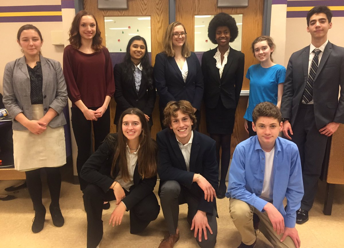 Congrats to the W-L debate team for a strong turnout at the December tournament! Hannah and Lindsey both placed in Varsity, qualifying for Metrofinals, and Adalie and Christoph placed in Novice! <a target='_blank' href='https://t.co/l8btHbFWYz'>https://t.co/l8btHbFWYz</a>