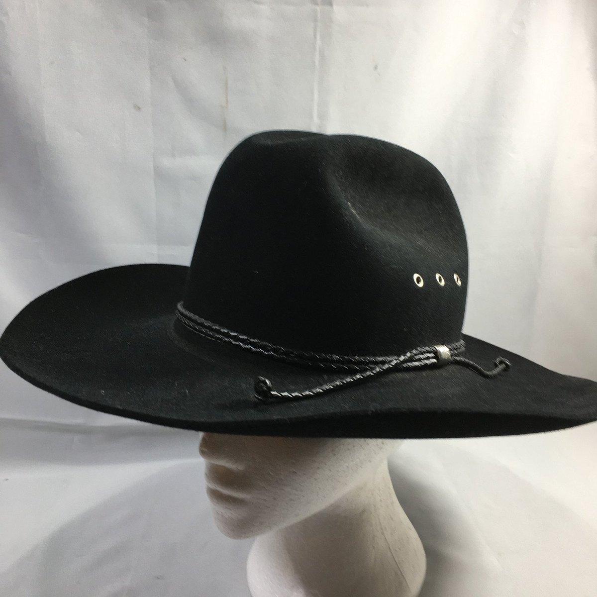 6a1b944f5528d Stetson K Tyler Beaver Felt Black Cowboy Hat Size 7  https   www.ebay.com itm 253934257724 …  stetson  cowboy  cowgirl  cowboyhat   western  hats  boots ...