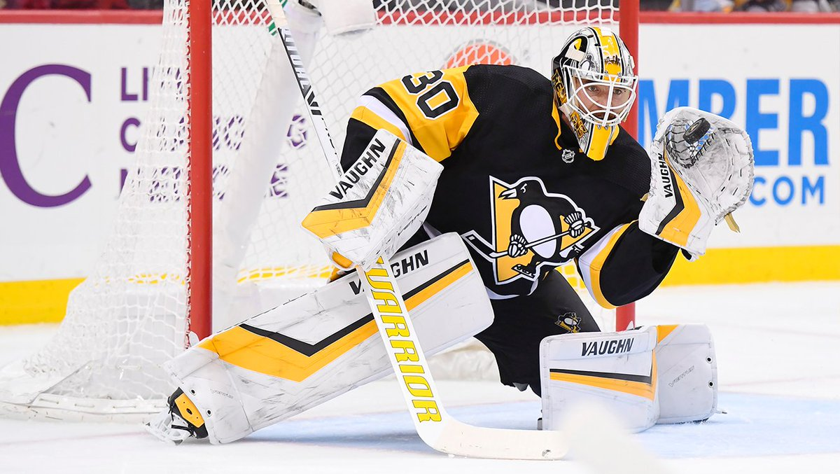 """Rust on Murray: """"He's a big reason we won this game. He was huge in the first two - made a lot of really good saves and I think we are all really happy to have him back."""""""