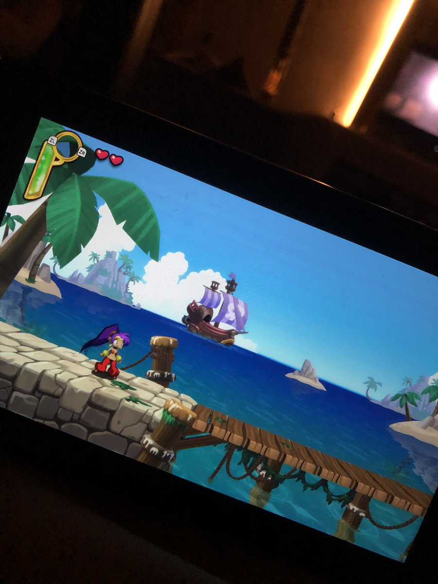 thank you for everyone that recommended SHANTAE HALF-GENIE HERO for my switch!! I'm in love. It's fulfilling all my 2d half genie full hero needs