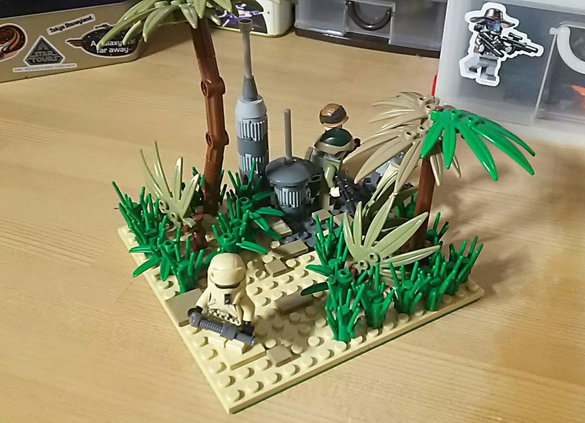 LEGO なつめ@クローンスカウトトルーパーのコスチュームを受験が