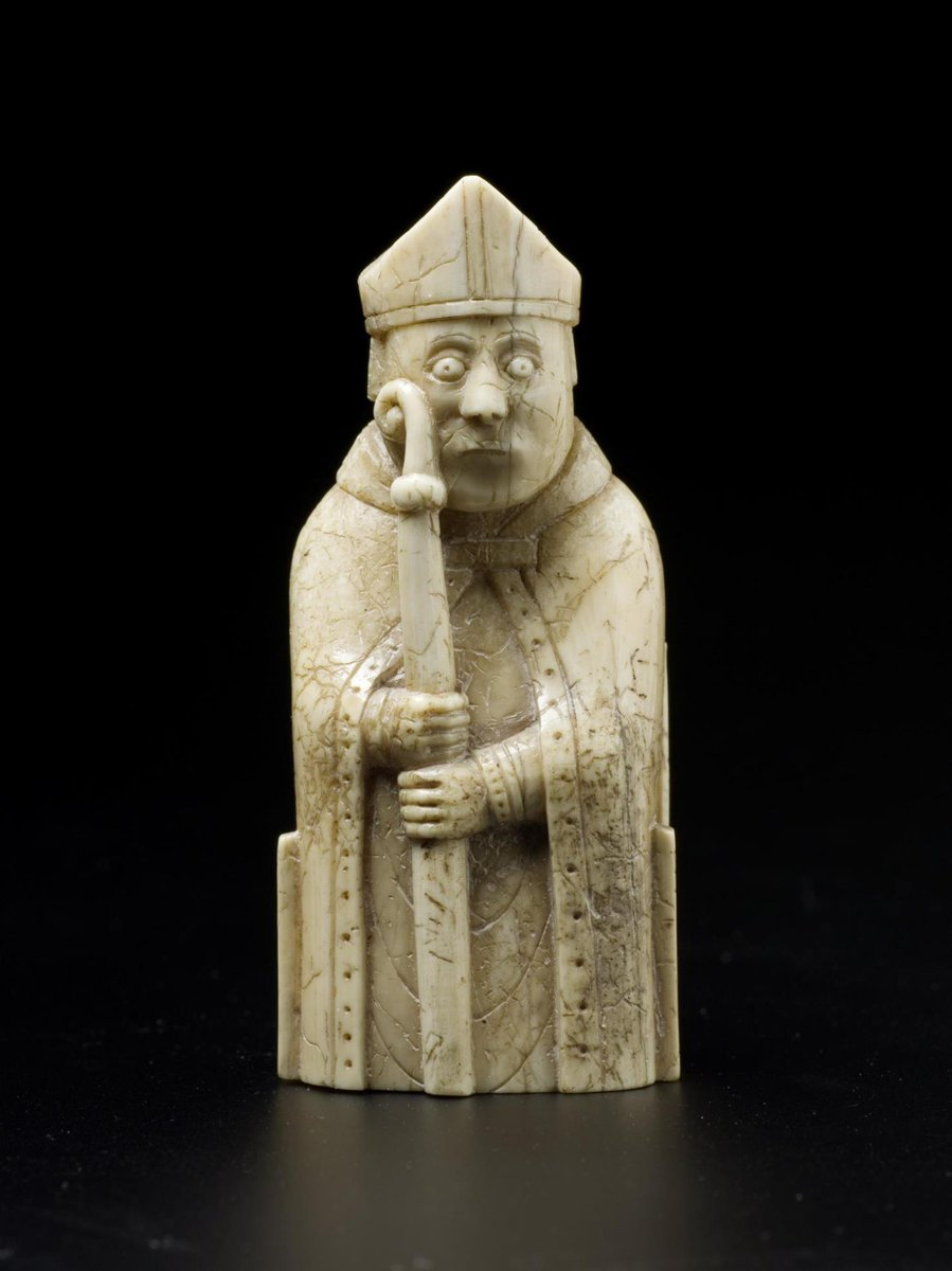 test Twitter Media - This #medieval chesspiece illustrates the importance of bishops in the running of the Church. It represents the pastoral role, and is a reminder of the Church's political importance: chess is a game of power and conquest ♗  Uncover the Lewis Chessmen: https://t.co/cdcGIpM3oc https://t.co/U6pt7eT7jt