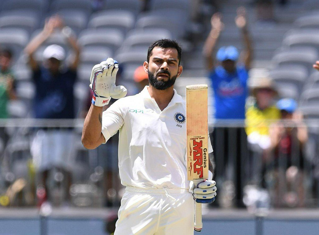Cricket: Kohli lets his bat do the talking but India still trail in Perth https://reut.rs/2Cgx4yc
