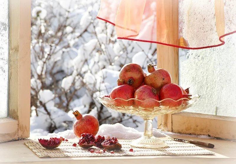 Снежные открытки с добрым днем, днем рождения открытка