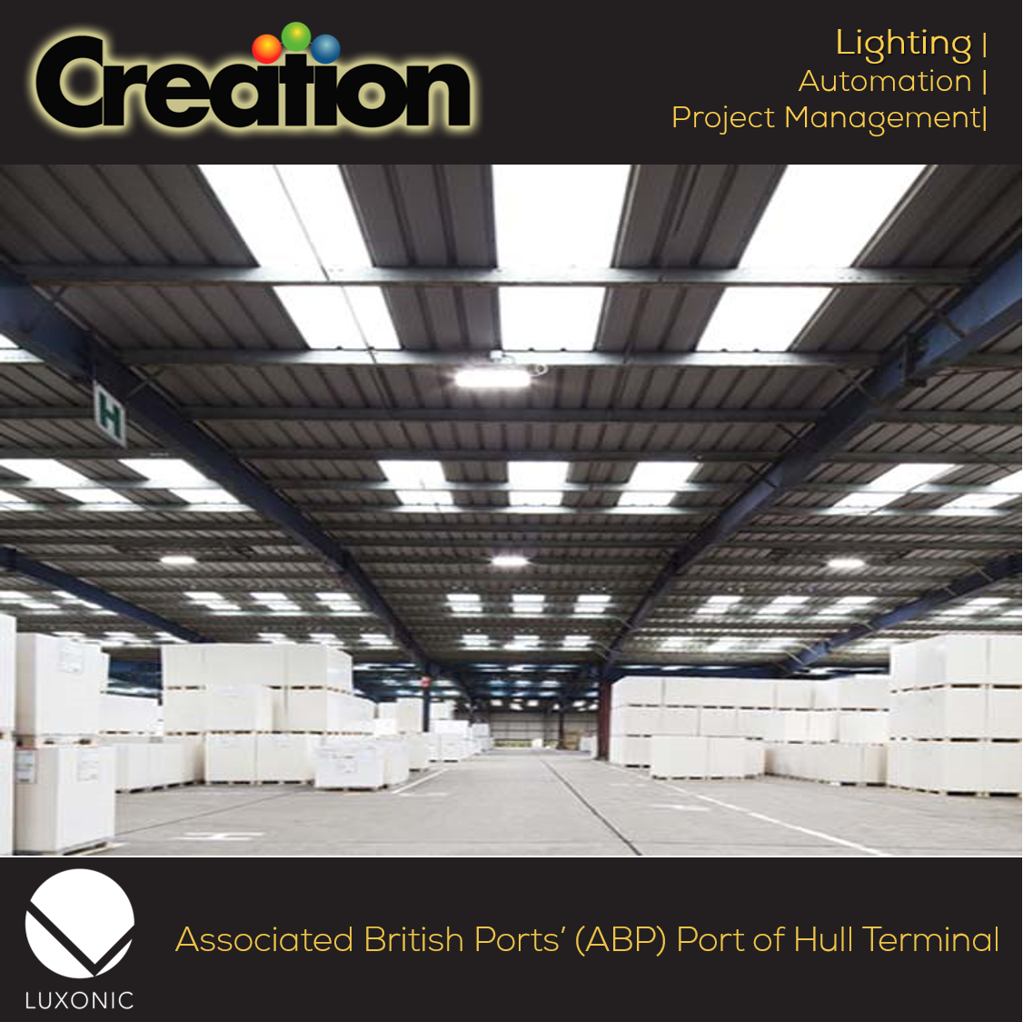 The Associated British Ports(ABP) chose #Hi_Max #LED #fittings by @_luxonic from UK for their Port of Hull Terminal to meet the #energy demands of a busy port which cut #costs by 96%! https://goo.gl/px6z2k.