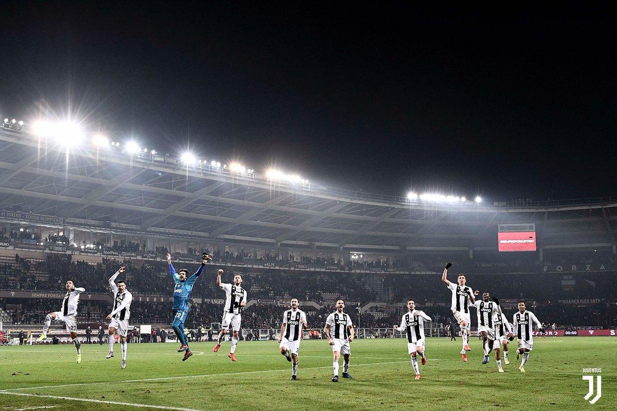 Il Derby della Mole in 📸  La gallery della vittoria Bianconera ⚪️⚫  http://juve.it/LcFX30n06kV