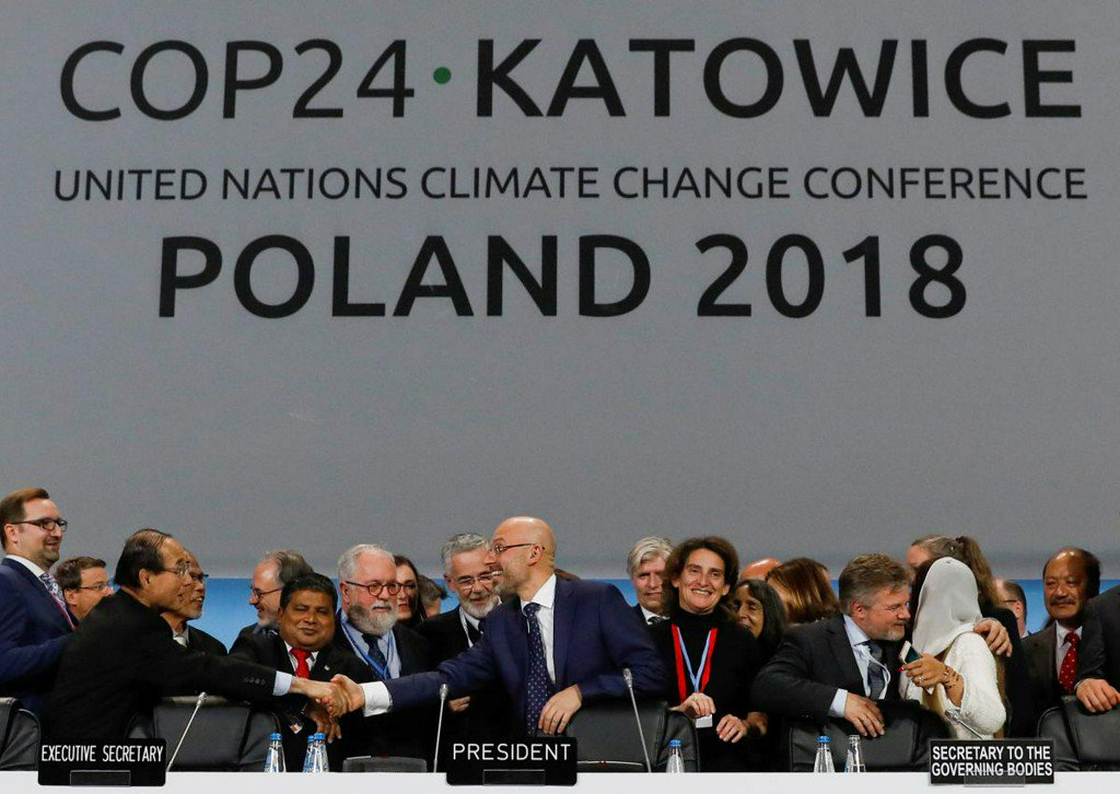 Nations agree on global climate pact rules, but they are seen as weak https://reut.rs/2CgtjIY