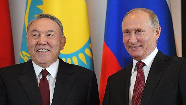 Путин поздравил Назарбаева с Днем независимости Казахстана https://t.co/sMBtYD5r29