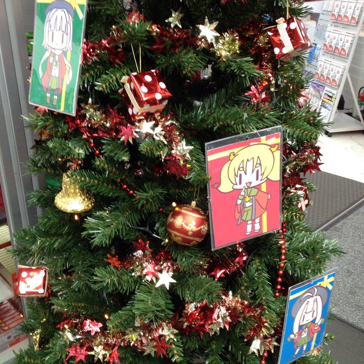ビックカメラ JR京都駅店 クリスマスツリー(さっぽろたん、なごやたん、立川たん)