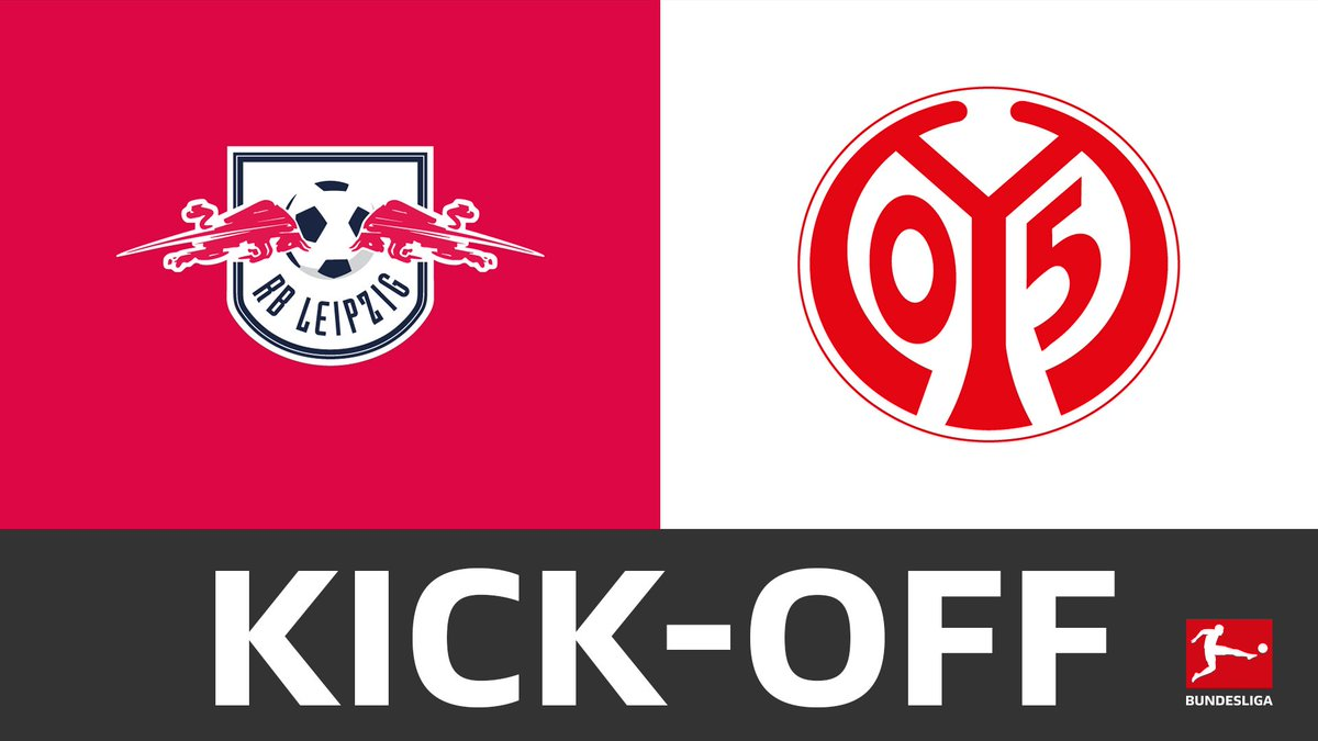 The ball is rolling in Leipzig! ⚽ #RBLM05