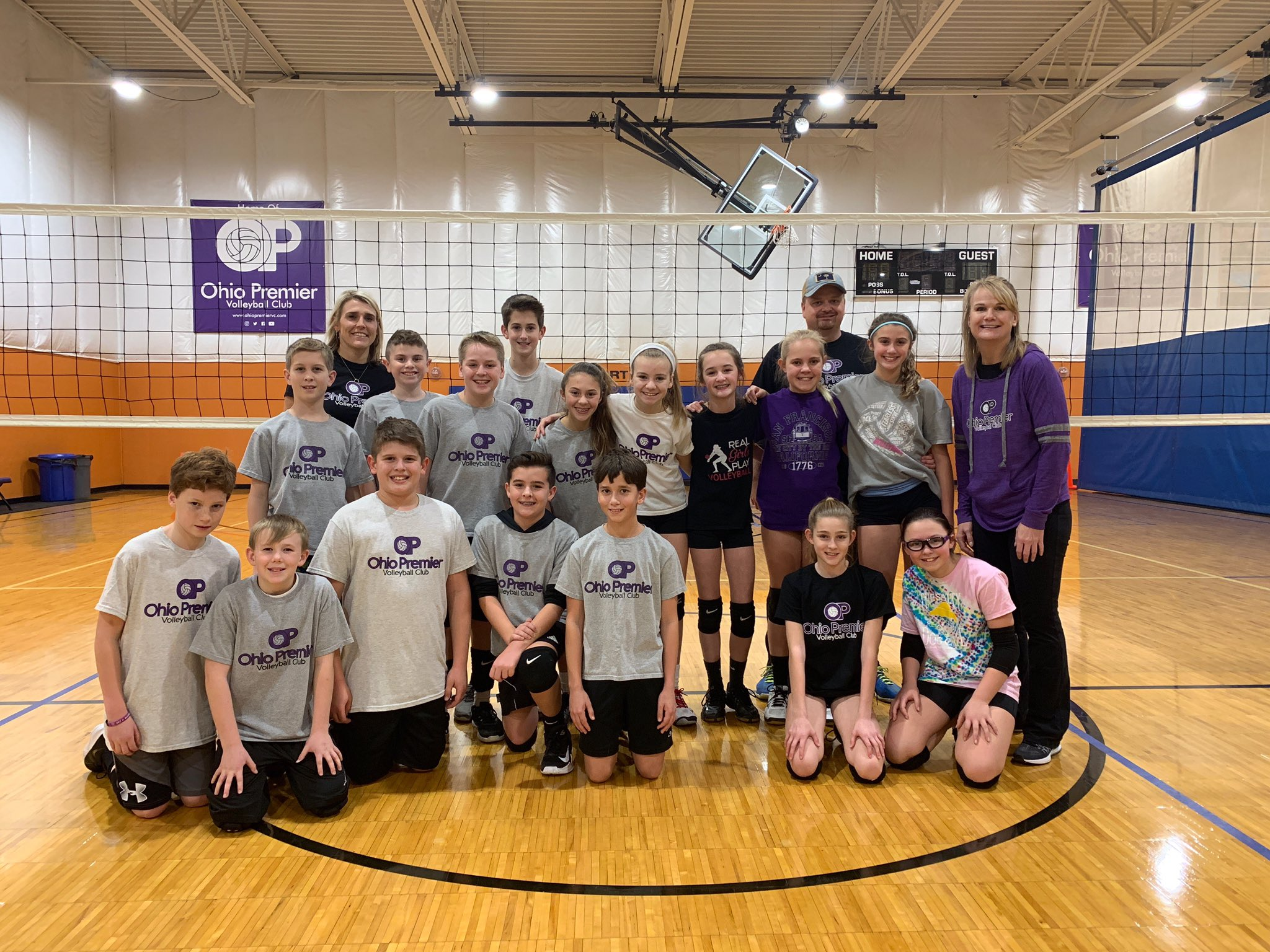 Ohio Premier Vc On Twitter Our Girls 12 1 Team Had A Chance To Scrimmage Our Boys 12u Team Playvolleyball Cincinnati