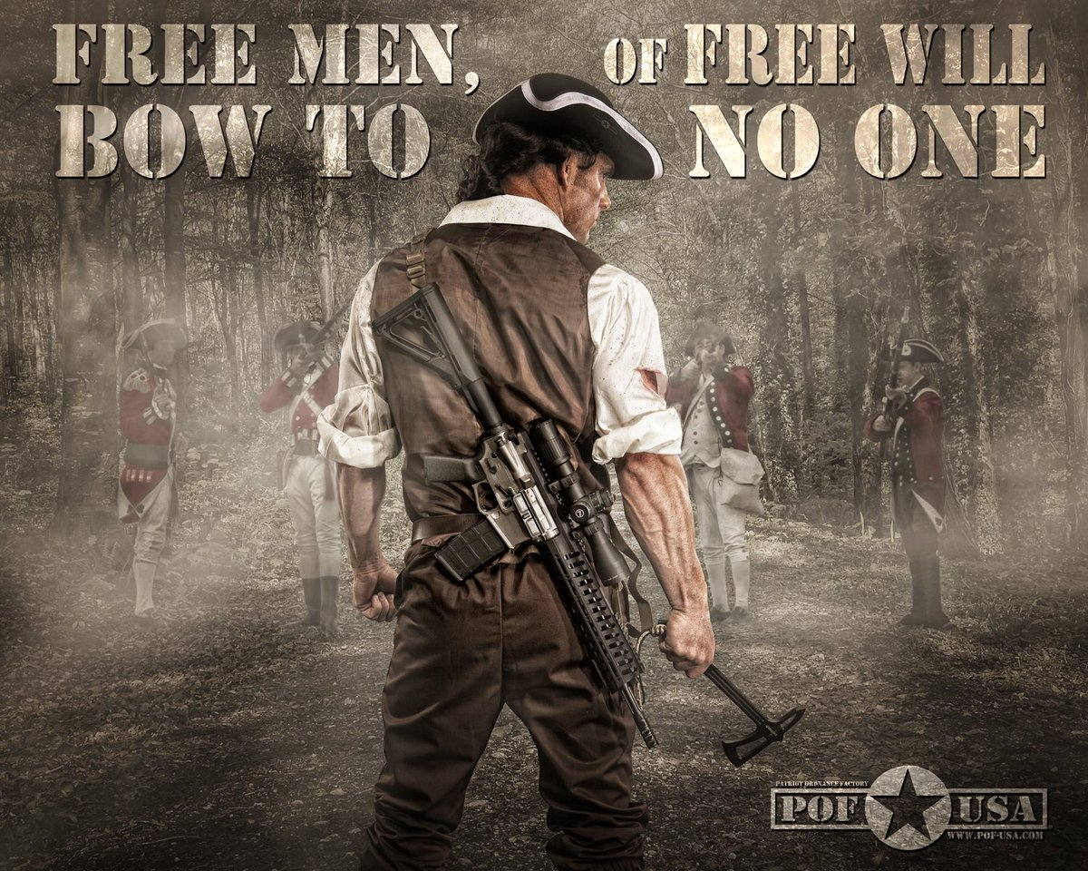 RT @AtacHardware: 🔴 It is the Obligation of Free Men to possess the Means  #ATAC #RedLine #2a https://t.co/Ihgnbw8pma