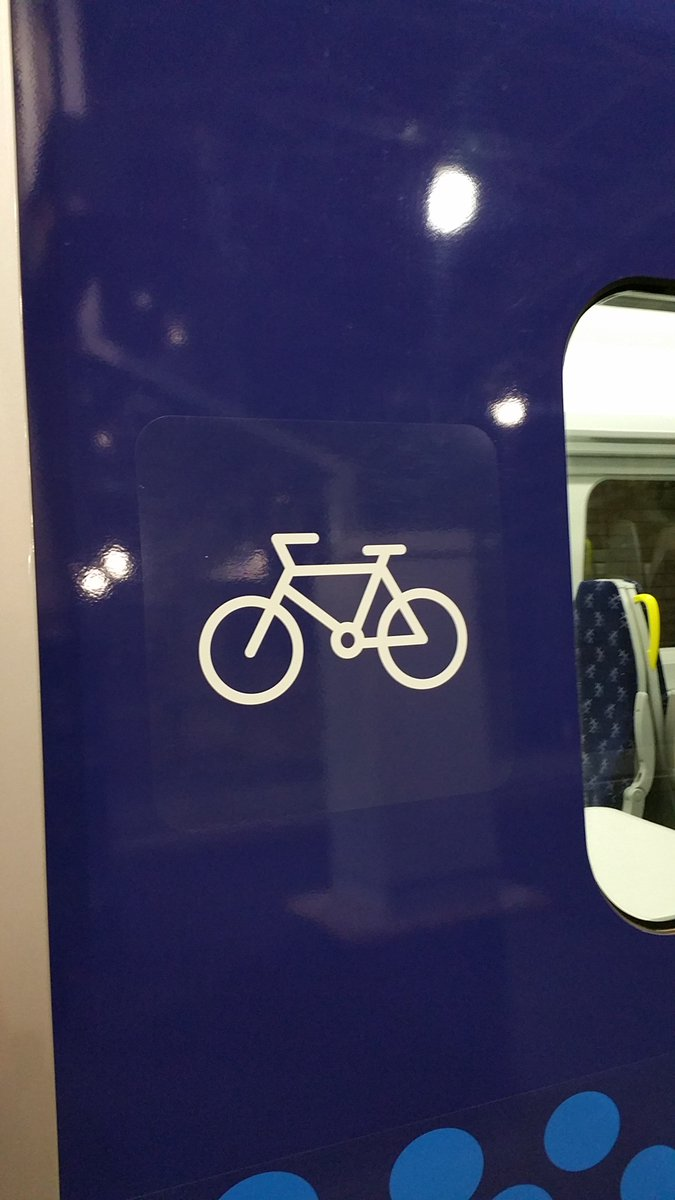 """ScotRail on Twitter: """"🚴♀️There's dedicated cycle spaces on board our brand new trains. Look out for the bike symbol inside & out. 😉… """""""