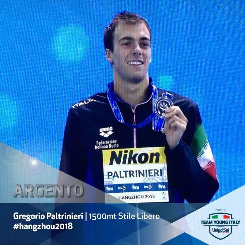 Gregorio Paltrinieri At Gregpalt Twitter