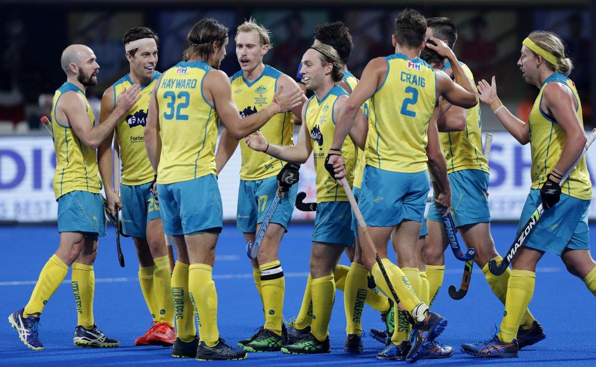 #HWC2018 | Australia thrash England 8-1 to clinch bronze medal  https://t.co/AImrrGSmTL