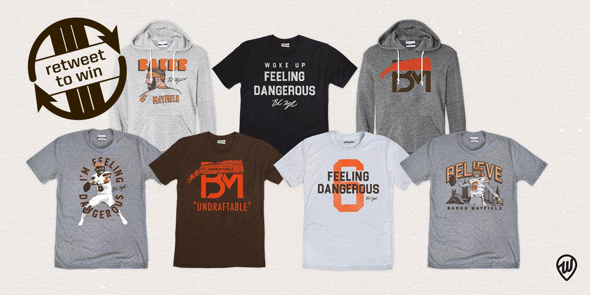 RETWEET + follow @WhereImFrom for a chance to win a @bakermayfield gift package worth over $1k!   • 2 club tix for #CINvsCLE • 5 Baker t-shirts • 2 Baker hoodies • $250 Where I&#39;m From gift card   Rules:  http:// brow.nz/HAznk9  &nbsp;  <br>http://pic.twitter.com/eoMqgKzEBM