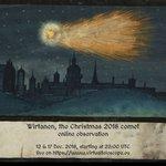 Image for the Tweet beginning: Today (December 16), Comet 46P/Wirtanen