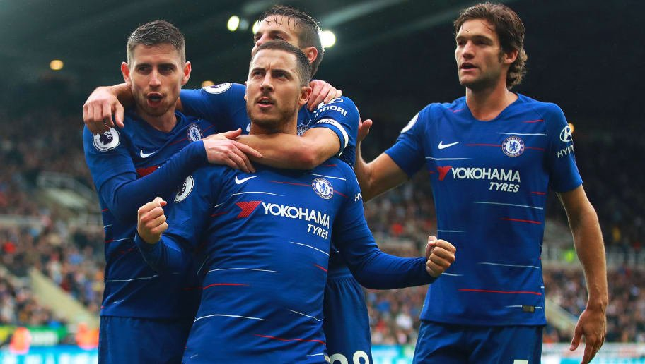 Eden Hazard is the first player to reach 8+ goals and 8+ assists in the Premier League this season.  He's in the mood.