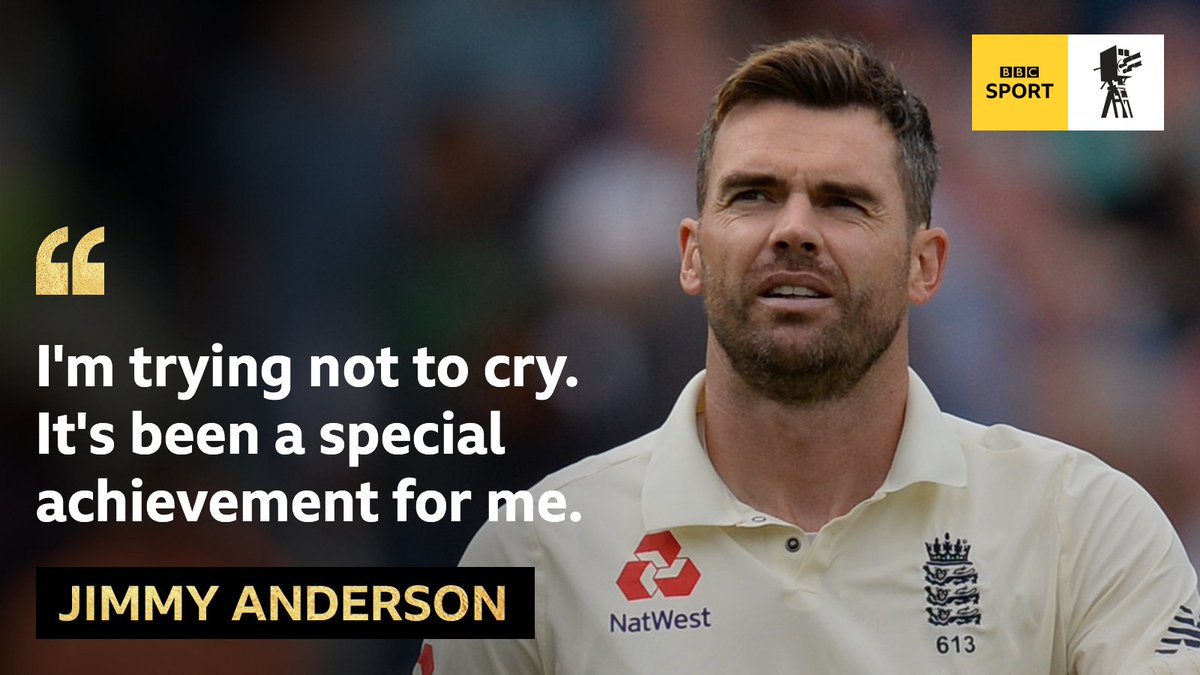 ⭐ The most successful pace bowler in Test history ⭐ Reached 564 with a five-wicket haul  ⭐ Helped England to series win over India on home soil   Is Jimmy Anderson your pick for BBC Sports Personality of the Year 2018?  📺📻📱 https://t.co/f24qzdA3gV #SPOTY